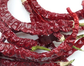 Whole Dried Cayenne Peppers // Joe's Long Red