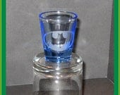 Batman shotglass - bat signal, Bruce Wayne shot glass