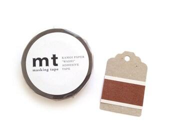 Washi Masking Tape Chocolate // Washi Paper Tape
