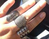 3 adjustable aluminum rings