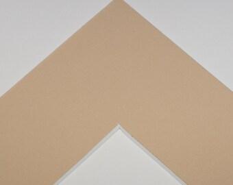 5x7 Mat for 8x10 Frame - Sand