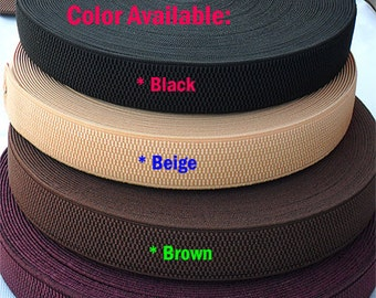 """25 mm1"""" wide strach waistband elastic belt sewing dress material honeycomb style x 100 cm"""