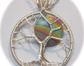 Summer of Love Psychedelic 70's Tree of Life, Full Moon Tree of Life - Limited Edition