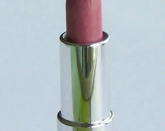 Winsome Vegan Lipstick- Semi-Glossy Muted Medium Rose Pink