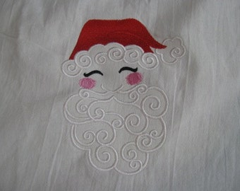 Santa Towel- DISCOUNTED FOR FLAW
