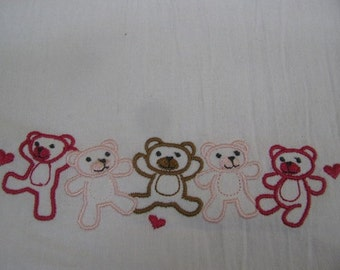 Teddy Bear Line - DISCOUNTED FOR FLAW