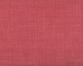 Rose Fabric, Weave by Moda Fabrics, Dusty Rose, Rose Fabric, 1 yard fabric, 05033