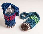 NFL, Seattle Seahawks, Bills, Texans, Patriots, Giants, Water Bottle Sling, Football - Ready to Ship, Shipping Included