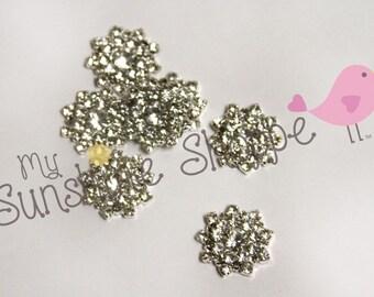Crystal Sunshine Embellishment - set of 5
