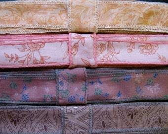 Vintage Silk Ribbon, 4 colors, C31