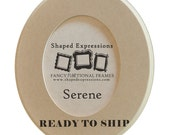 READY TO SHIP - 4x4 Serene -  unfinished picture frame