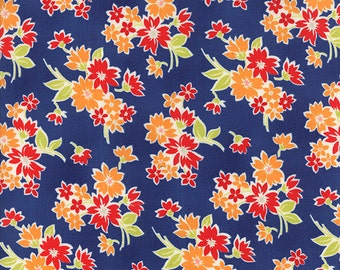 Miss Kate - Spring in Navy - 55091 17 - Bonnie and Camille for Moda - 1/2 Yard