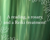 New Year Power Package- A Reading, a Rosary and a Reiki Treatment!
