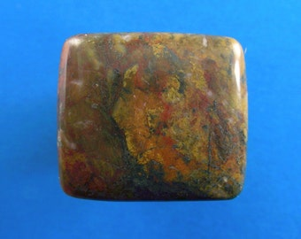 Stony creek jasper cabochon - ring size