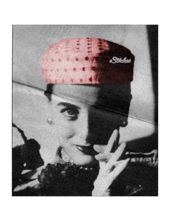 Jersey Cap Hat Vintage Sewing Pattern - Sewing pattern PDF 1428