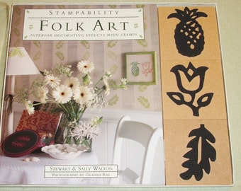 Stampability - Folk Art - Interior Decorating Effects with Stamps