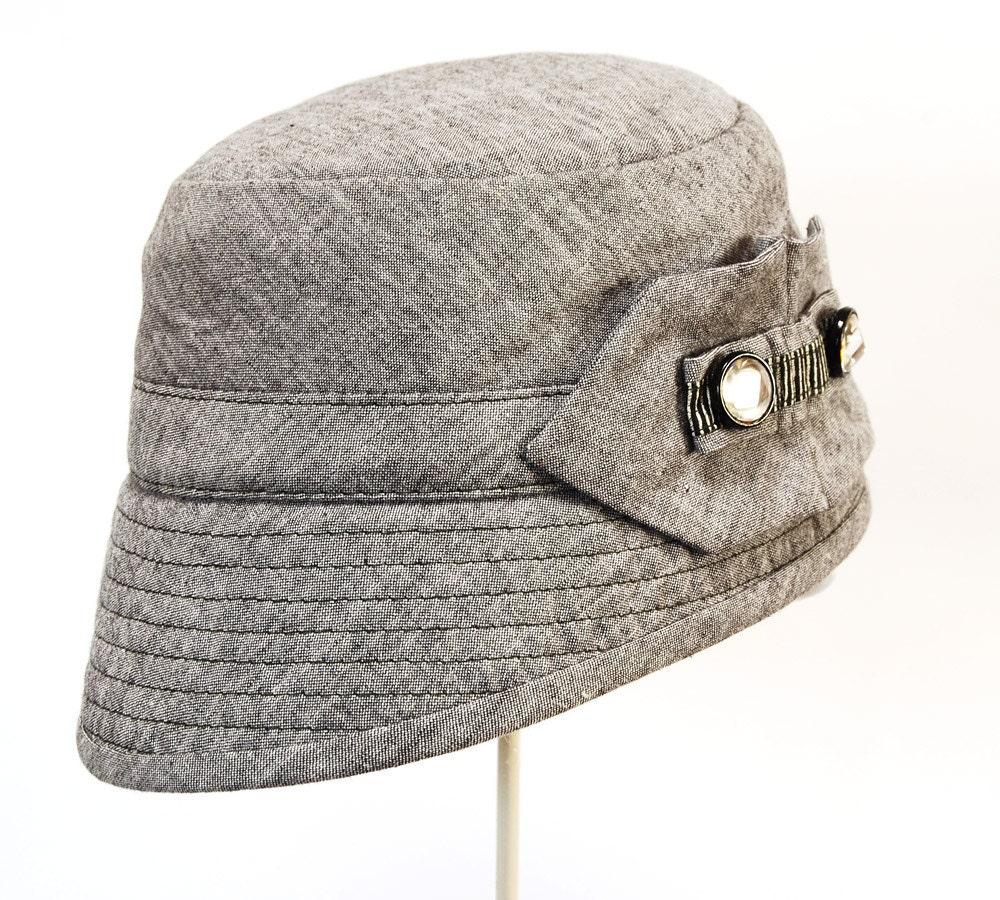 s hat 1930 s style myrna loy assymetrical