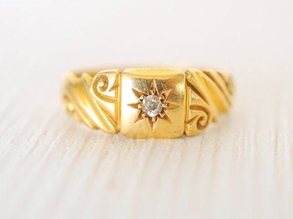 1800's / Antique Victorian 18K / Diamond by ErinAntiques ...