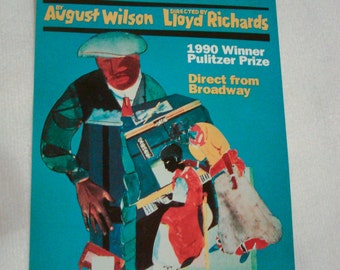 A Piano Lesson Handbill, Play by August Wilson