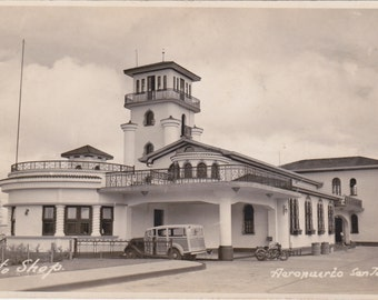1940s Postcard of San Jose Airport in Costa Rica- Real photo postcard ...