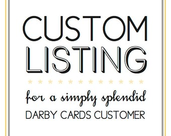 Custom Listing | Tori