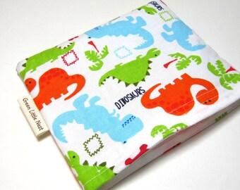 Reusable Snack  Bag, Dino Snack Bag, Back to School Eco Friendly Snack Bag, Dinosaur Snack Bag, Back To School