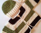 infant sweater set with hat and booties fall sweater set hipster sweater