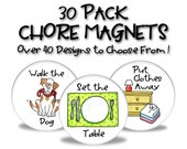 Chore Magnets - 30 Pack