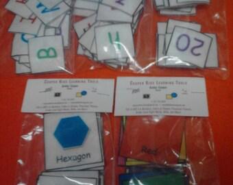 Kids Toys ~ Felt Sets Bundle, Preschool / Kindergarten (Mix & Match: 5 - Felt Sets), Educational, Felt Board, Felt Toy, Montessori Toy