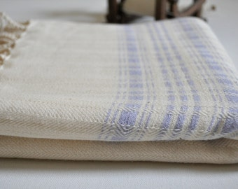 Turkish Towel Hand Loomed Cotton Peshtemal Towel