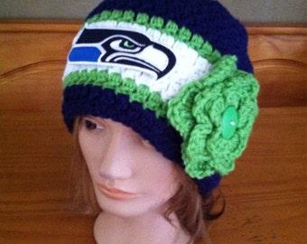 Seattle Seahawks women's beanie