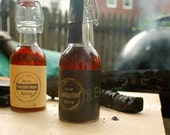 TWO Flavors of Barrel-aged Maple Syrup - SMOKE and unsmoked