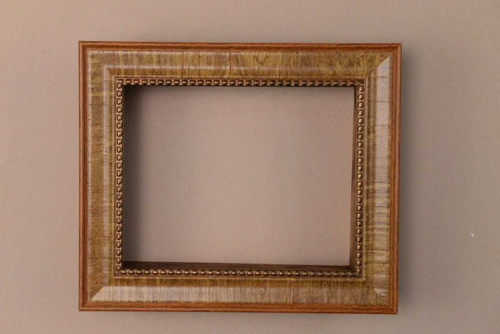 Tan Brown Shadow Box Frame Picture Frame Polystyrene
