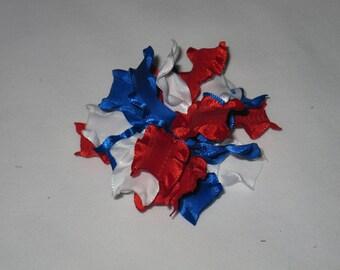 Red / White / Blue  pom pom.