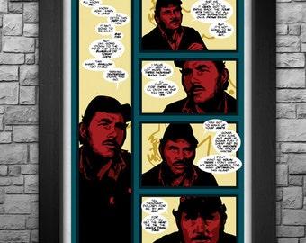"JAWS limited edition 11x17"" art print"