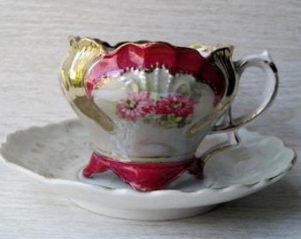 Ornate Vintage Teacup Set
