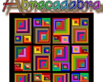 ABRACADABRA - Quilt-Addicts Patchwork Quilt Pattern