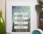 I am a Mormon LDS quote w/templeprintable
