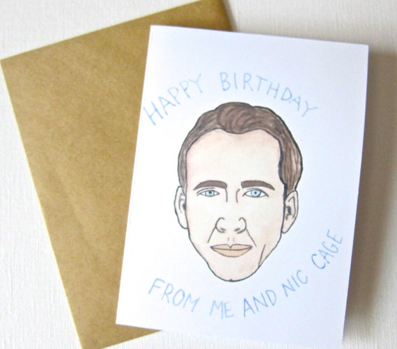 Nicolas Cage Birthday Card 2018 Images Pictures Birthday Cards