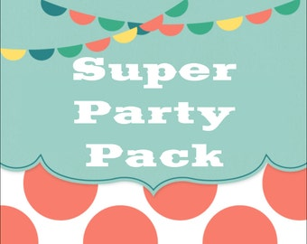 SALE - Build Your Own SUPER Party Pack - Any Theme In The Shop
