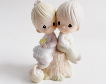 Vintage Precious Moments Love One Another Figurine 1978
