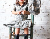 ACU Dress, Army dress,(All Branches) ACU dress, Toddler, Military inspired dress, welcome home outfit, maines, military, Military pageant