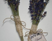 Lavender Seating Tags