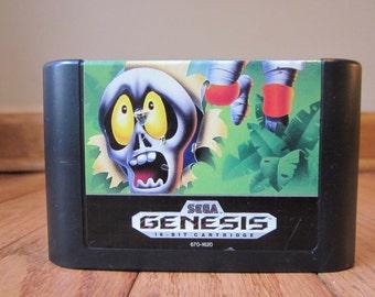 Decapattack Game Cartridge Sega Genesis