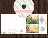 INSTANT DownloadChristmas / Holiday CD/DVD Label and Single Cover Templates - D20