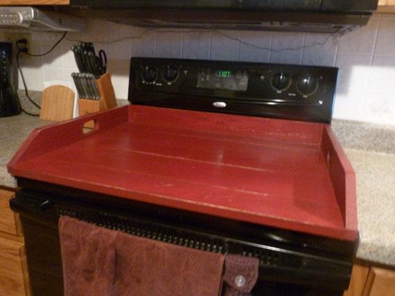 Primitive Kitchen Noodle Board Burgundy By