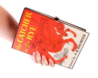 Book Clutch Purse- Catcher in the Rye