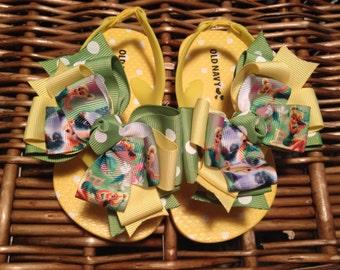 Tinkerbell Fairy Toddler Flip Flop Sandals Sizes: 8 (4 left)