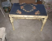 RESERVED FOR N......SPECTACULAR Vintage Bench Brought back to life, French, French Country, Victorian, Country