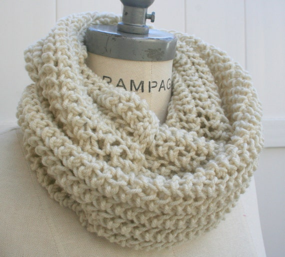 Knitting Items To Sell : Best selling items ivory knit scarf women scarves hand